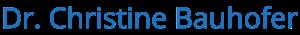 Logo Dr. Christine Bauhofer